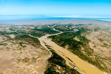 Neales River mouth, north west Lake Eyre