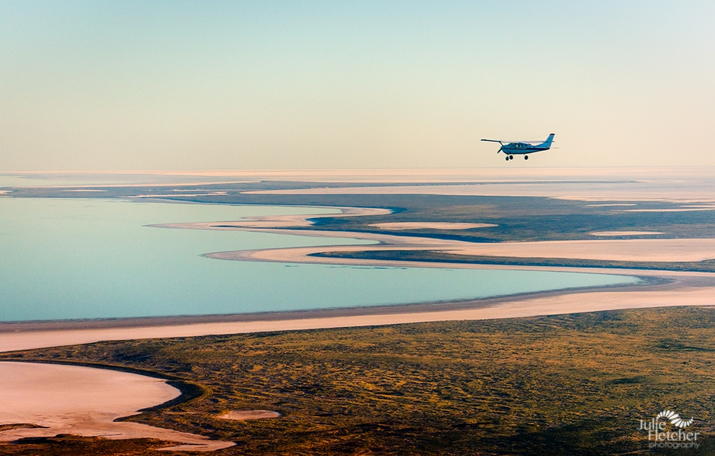 Flying Lake Eyre