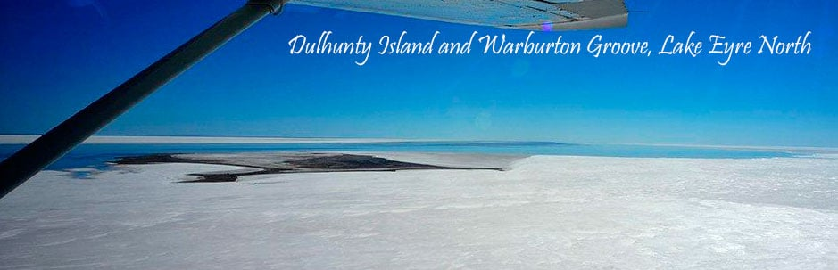 Dulhunty Island and Warburton Groove, Lake Eyre North
