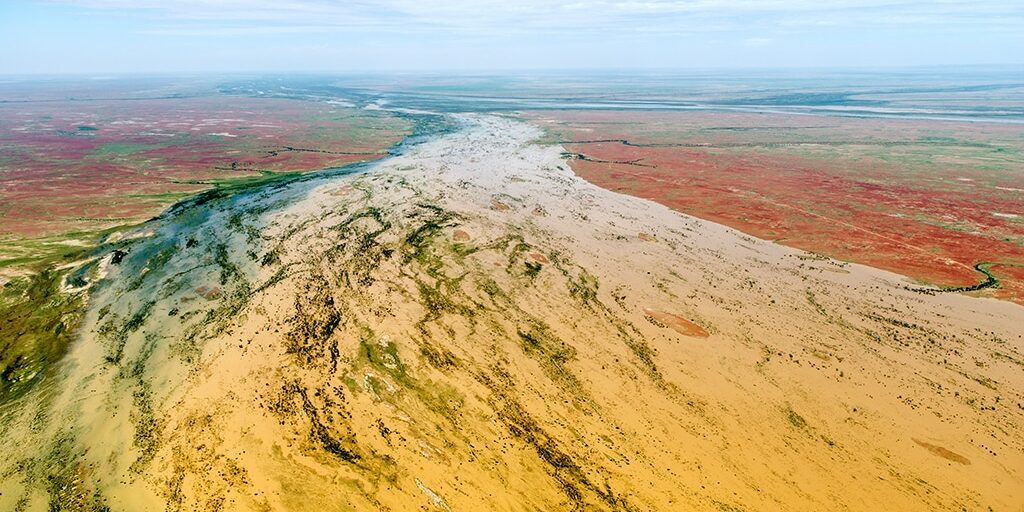 Neales River, north west Lake Eyre